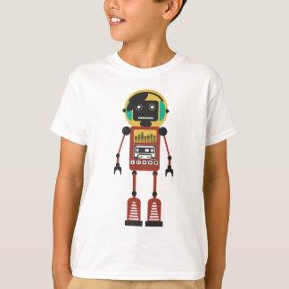 Retro radiosände roboten tee shirt
