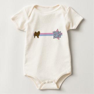 Retro ranka för baby för stjärnaChowChow Body För Baby