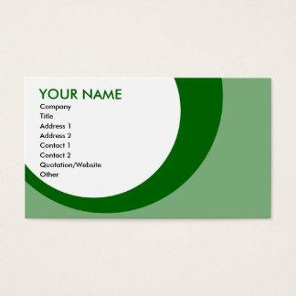 retro ringgröntar visitkort