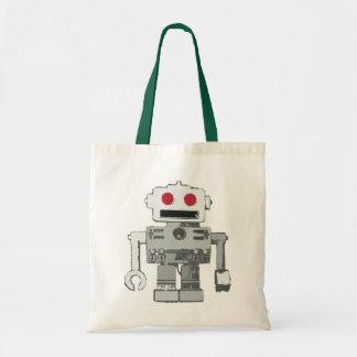 Retro robottoto budget tygkasse