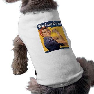 Retro Rosie kan vi göra det Långärmad Hundtöja