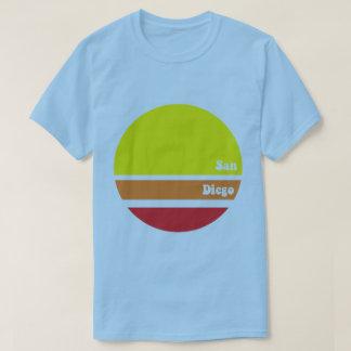 Retro San Diego T-tröja Tee Shirt