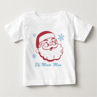 Retro Santa älva som göras man Tshirts