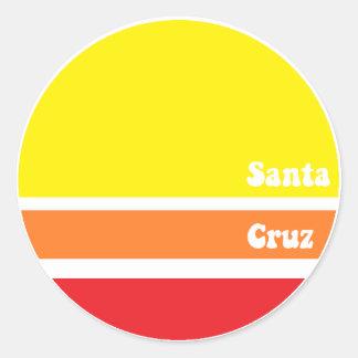 Retro Santa Cruz klistermärke