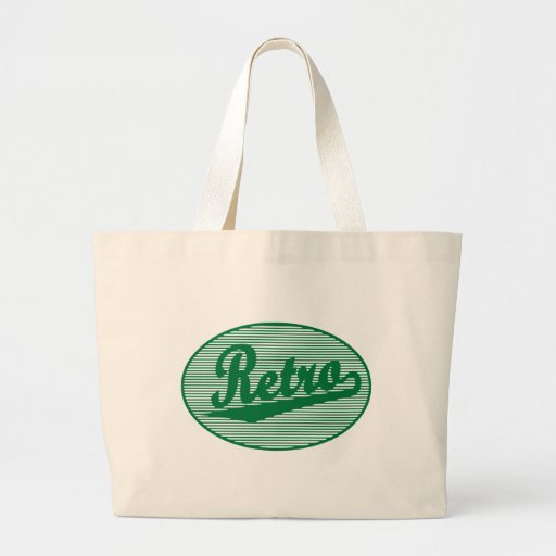 Retro skriva logotypen i grönt kasse