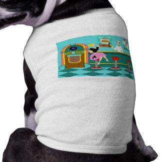 Retro sodavattenfontänhund tröja långärmad hundtöja