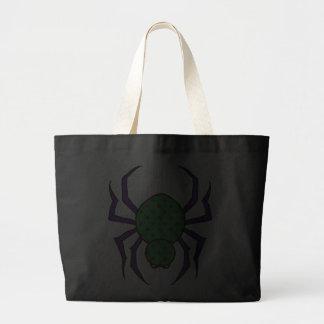 Retro spindel tote bags