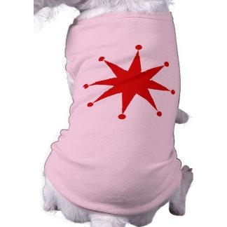 Retro Starburst Långärmad Hundtöja