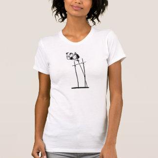 Retro stavhopp tee shirt