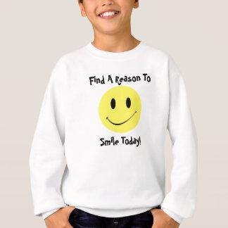 Retro stil allt något med en smiley face tee
