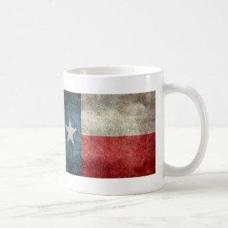 Retro stil för Texas statlig flaggavintage Kaffemugg