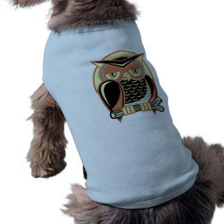 Retro stiluggla långärmad hundtöja