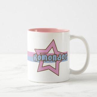 Retro stjärna Komondor Två-Tonad Mugg