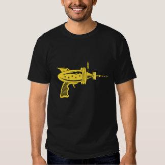 Retro strålvapen i gult t-shirts