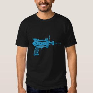 Retro strålvapen i ljust - blått tröja