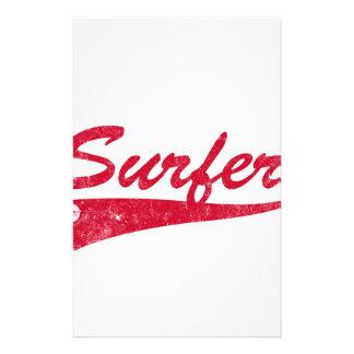 Retro surfare brevpapper