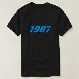 Retro T-tröja 1987 Tee Shirt