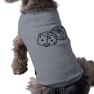 Retro tärning långärmad hundtöja