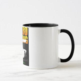 Retro tävlings- kaffemugg