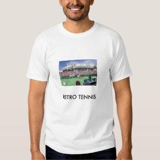Retro tennis tee
