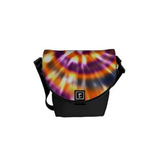 Retro Tiefärg färgrika Boho för Hippy fred Kurir Väska