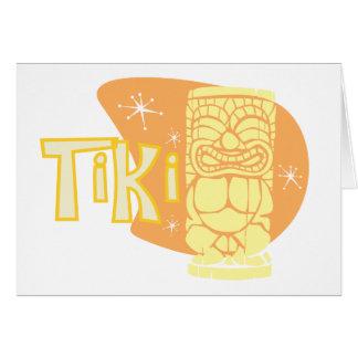Retro Tiki 9 Hälsnings Kort