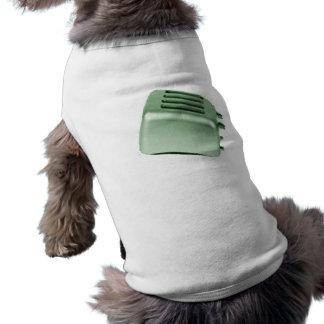 Retro Toaster - grönt Hund Tee
