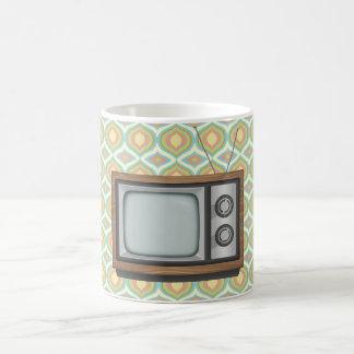 Retro TV Kaffemugg