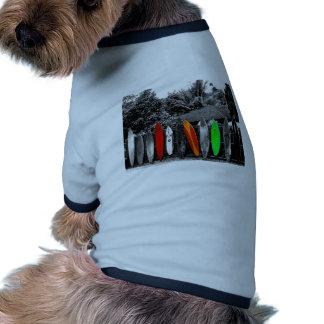 Retro utslagsplats hund t-shirt