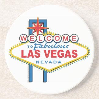 Retro Välkomnande-till-Las-Vegas Underlägg