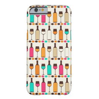 Retro vinflaskor och exponeringsglas barely there iPhone 6 skal