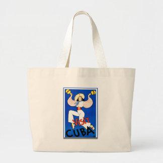 Retro vintage för besökKuba Tote Bag