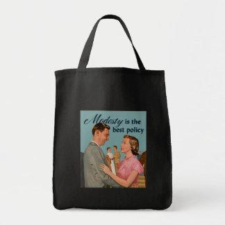 Retro vintage tote bag