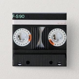 Retro vintage tejpar 80-tal för 70-tal för kassett standard kanpp fyrkantig 5.1 cm