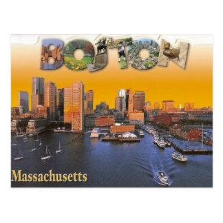 Retro vykort för Boston vintage