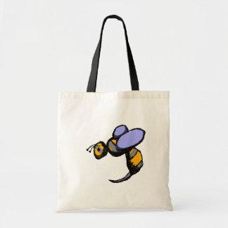 Retro Wasp Tygkasse