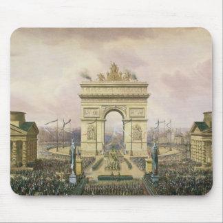 Retur av askaen av kejsaren till Paris Musmatta
