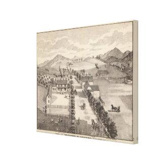 Returnera av Benjamin R Greeno i Rutland Canvastryck
