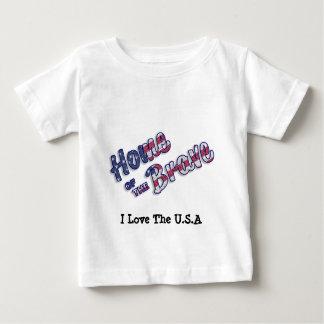 Returnera av indiankrigaren i amerikanfärger tee shirt