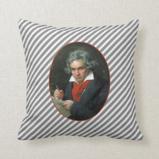 Reversible för Beethovenporträttvintage Kudde