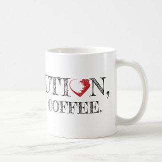 Revolution men första kaffemugg
