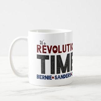 Revolution Time - Bernie slipmaskiner 2016 Kaffemugg