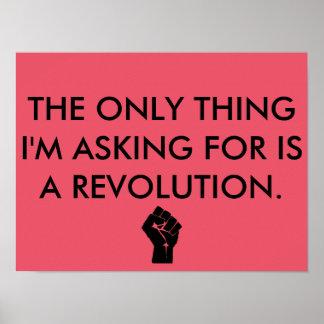 Revolutionaffisch Poster
