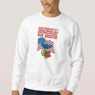Revolutionär krigförfader lång ärmad tröja