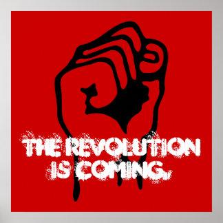 Revolutionen kommer poster