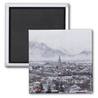 Reykjavik island magnet