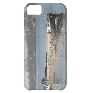 Rhine pråmar, kol, sand och grus i i stora partier iPhone 5C fodral