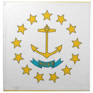 Rhode - MoJo för östatlig flaggaamerikan servett