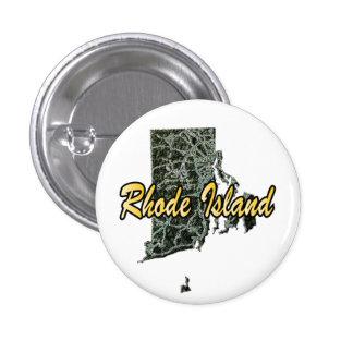 Rhode - ö mini knapp rund 3.2 cm