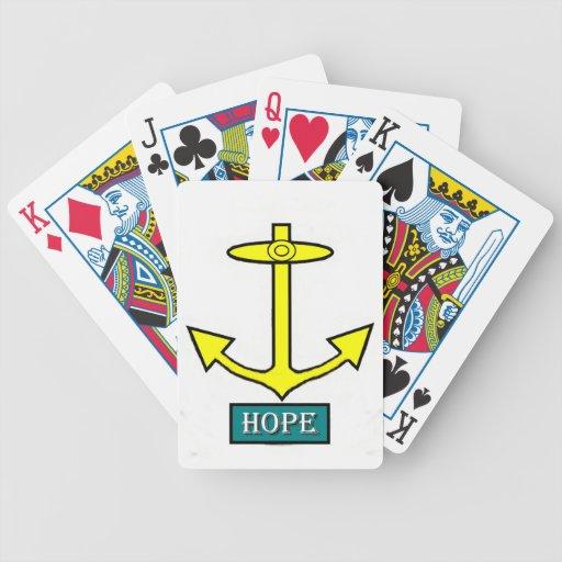 Rhode - öhopp ankrar spelkort
